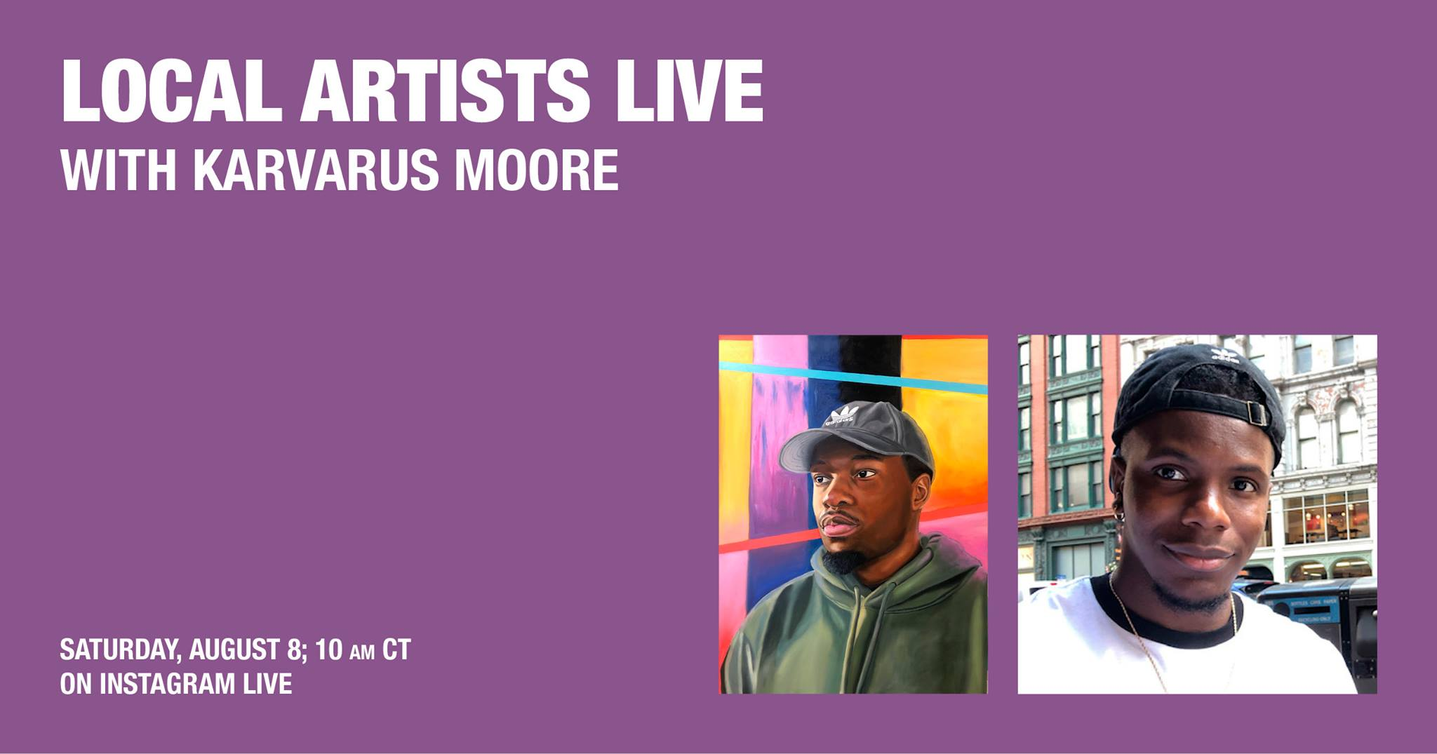 Local Artist Live: Karvarus Moore