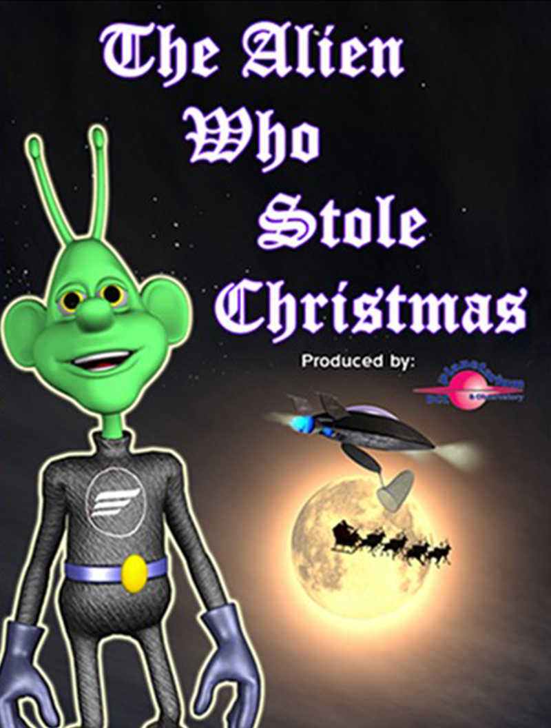 THE ALIEN WHO STOLE CHRISTMAS