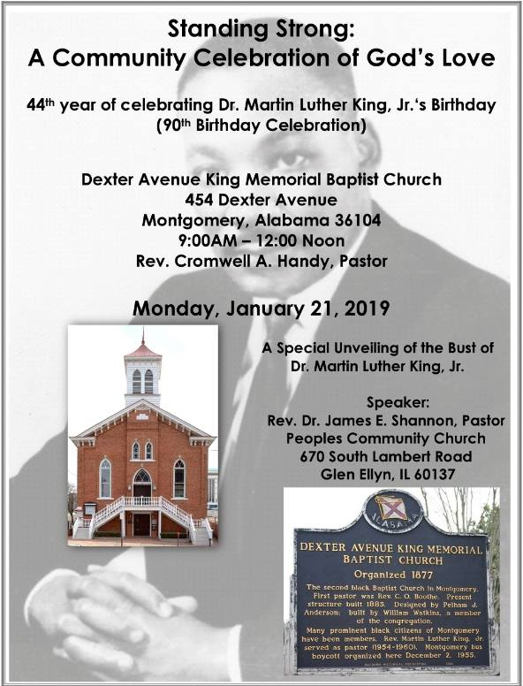 44th Martin Luther King Jr Birthday Celebration