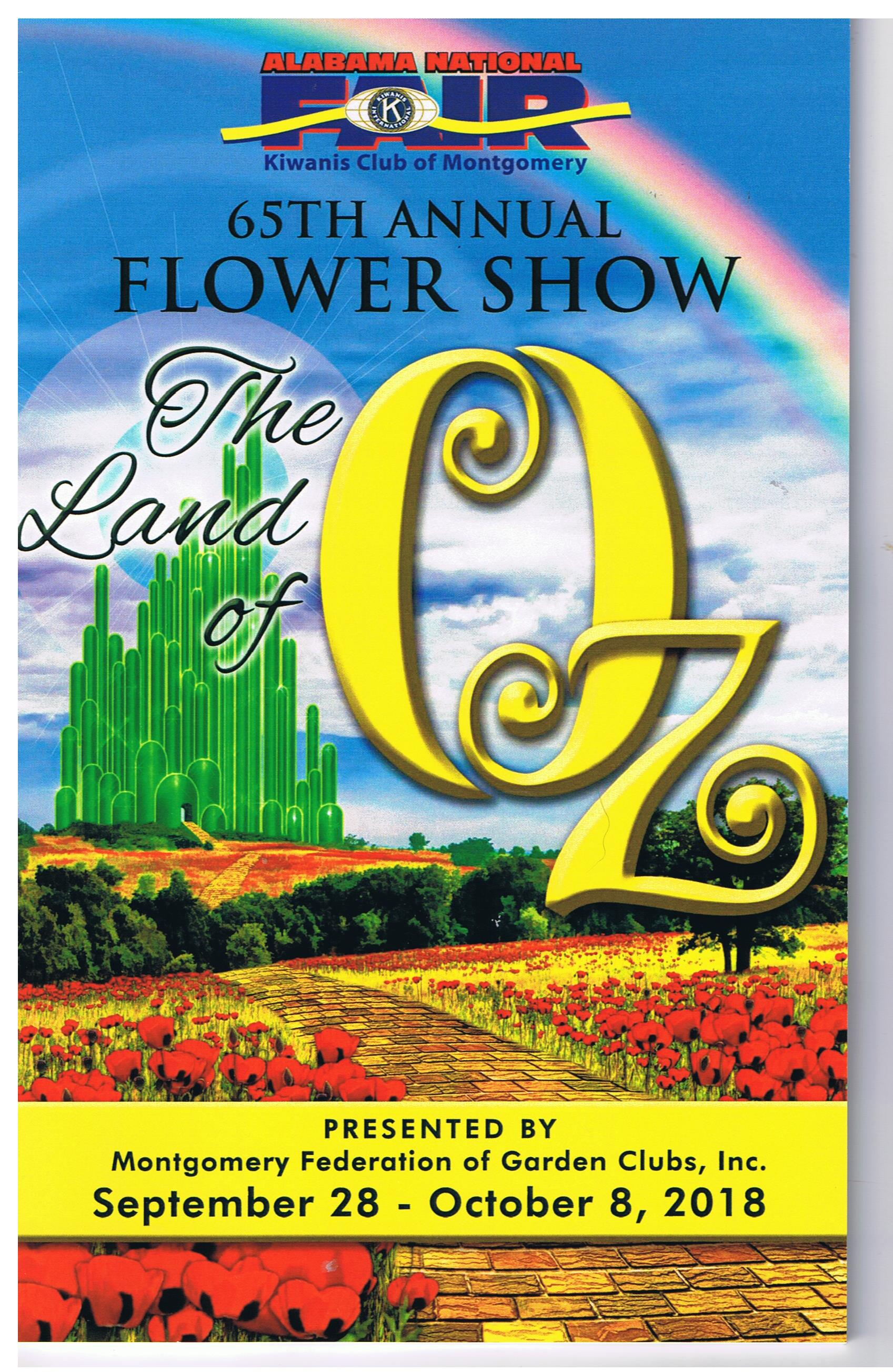 65th Annual Flower Show - The Land of Oz