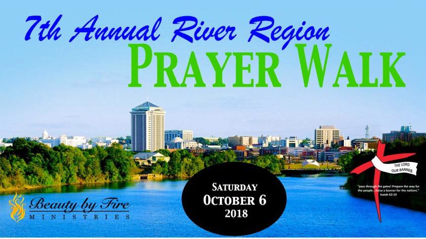 7th Annual River Region Prayer Walk