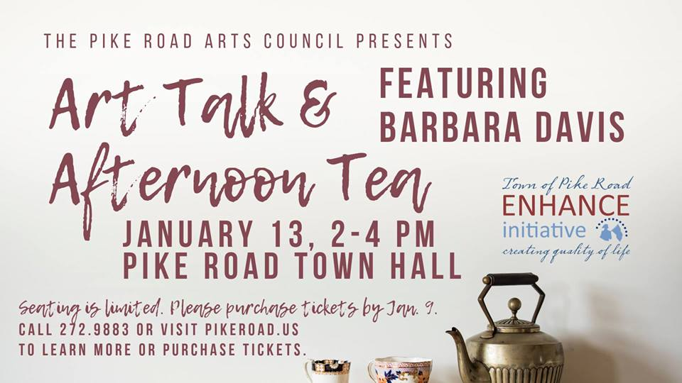 Art Talk & Afternoon Tea featuring Barbara Davis