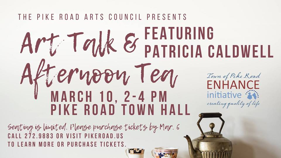 Art Talk & Afternoon Tea featuring Patricia Caldwell
