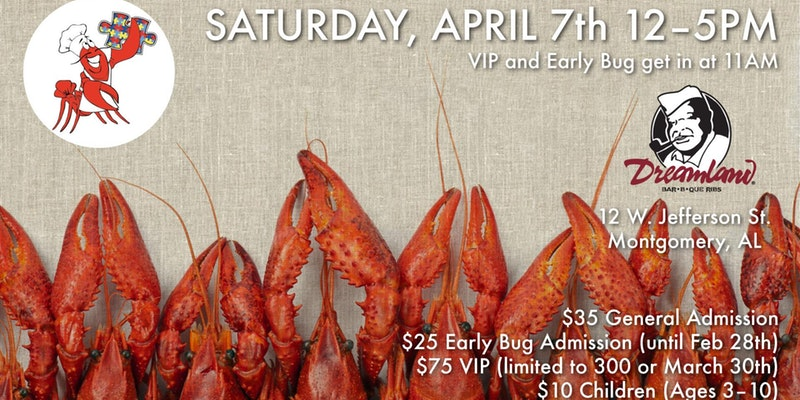 14th Annual Autism Crawfish Boil