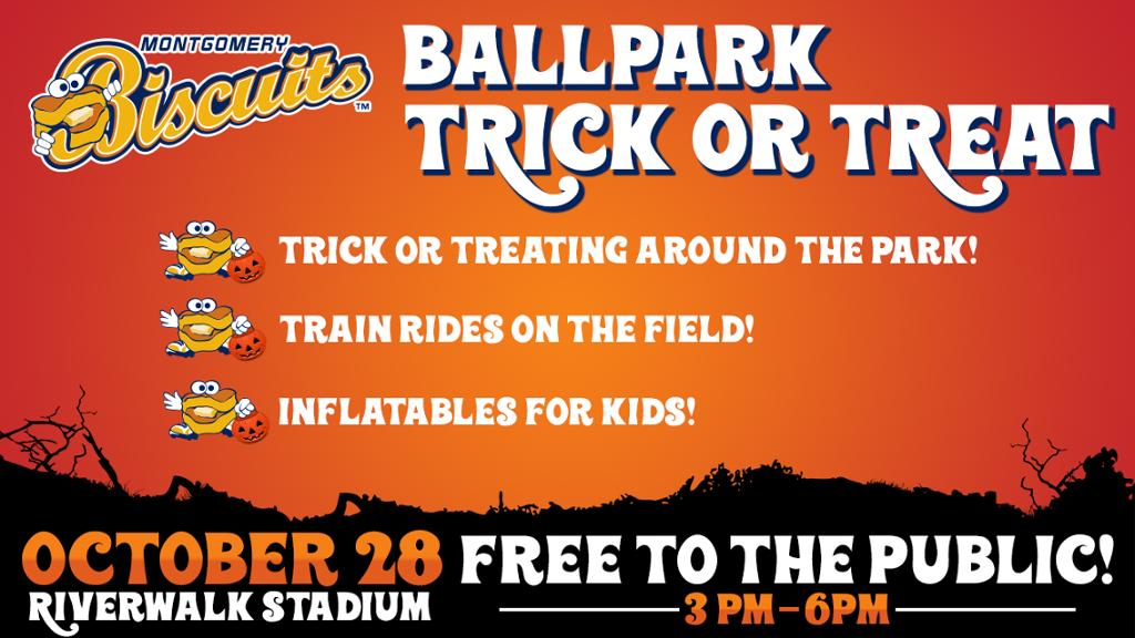 Ballpark Trick or Treat at Riverwalk Stadium