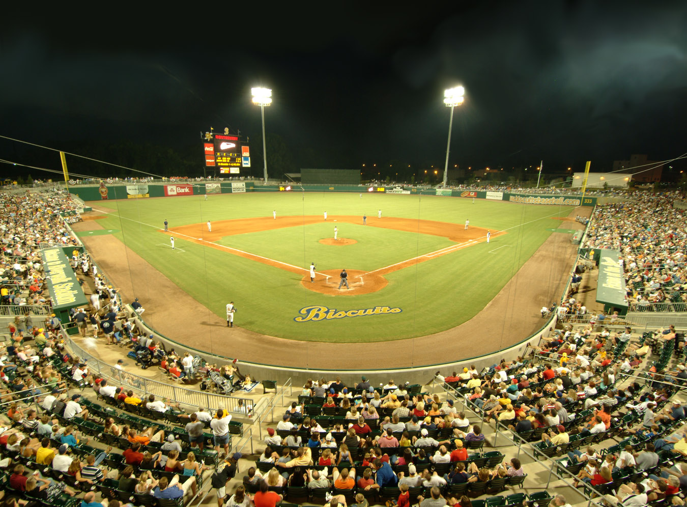 Biscuits Stadium | Alabama Tourist Attractions | Montgomery Alabama