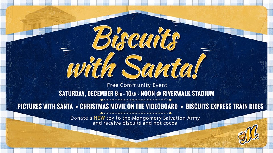 Biscuits with Santa