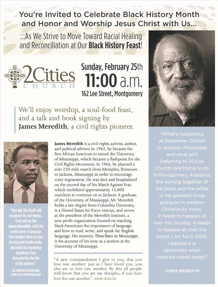 Black History Feast with James Meredith