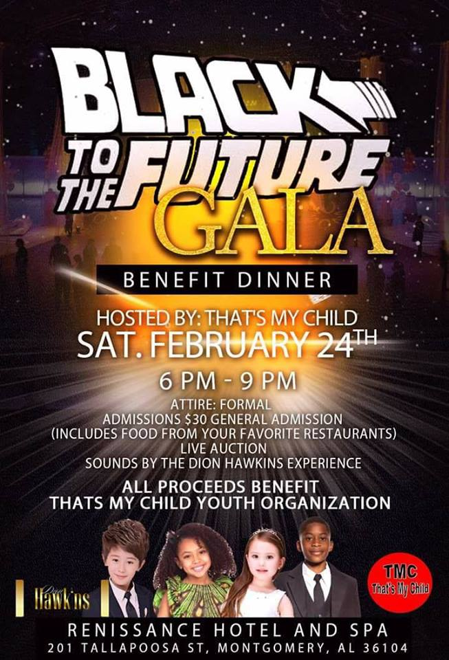 That's My Child's Black to the Future Fundraising Gala