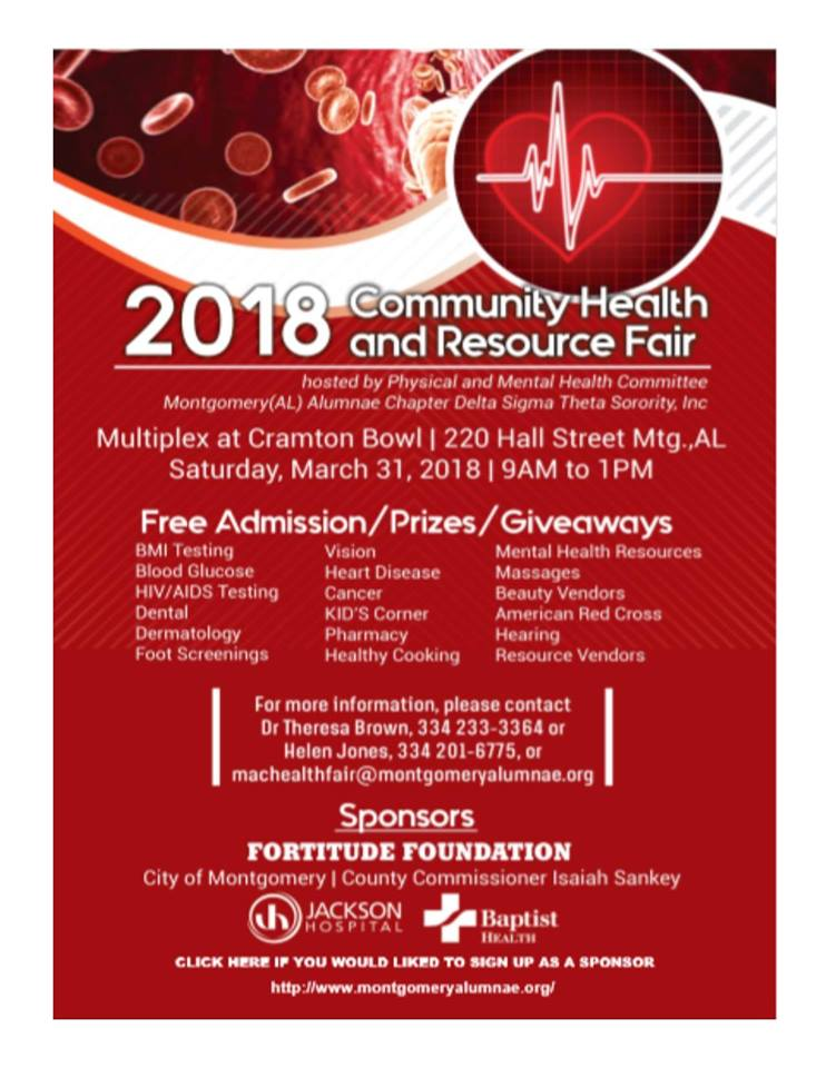 2018 Community Health and Resource Fair