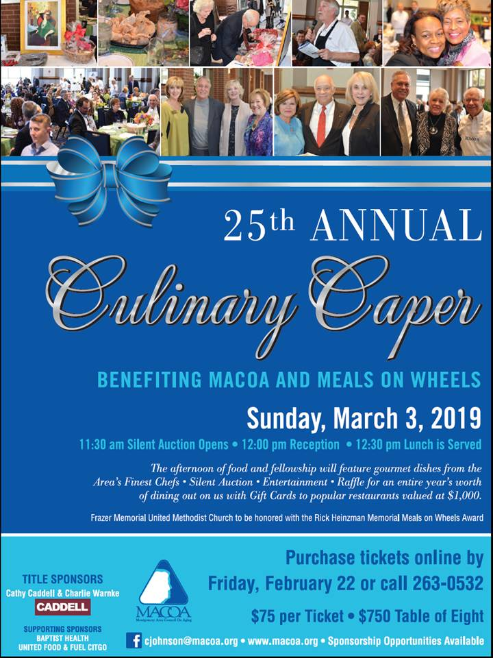 25th Annual Culinary Caper