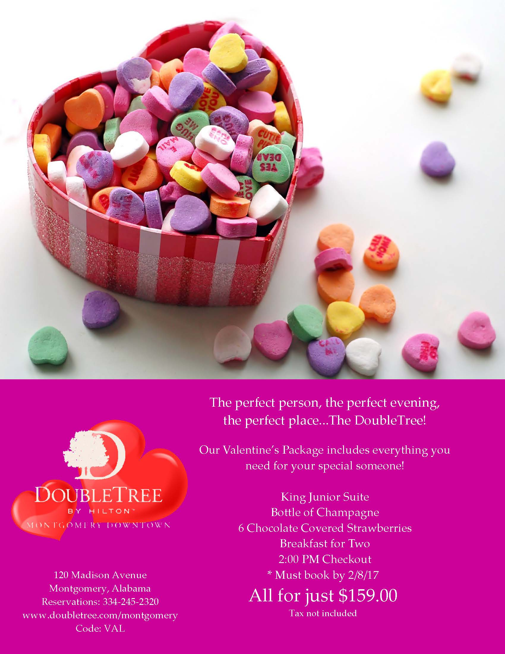 2017 Valentines Day At The DoubleTree By Hilton