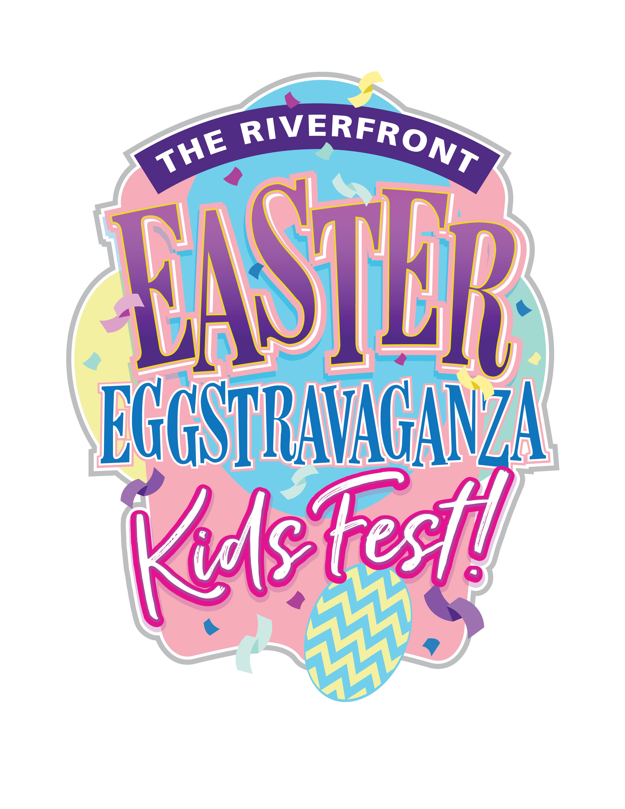 The 2nd Annual Riverfront Easter Eggstravaganza Kids Fest