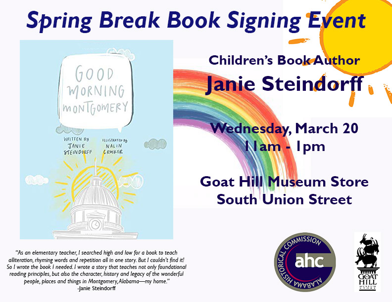 """Good Morning Montgomery""  Book Signing"