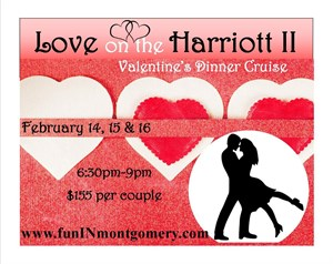 Love on the Harriott II Valentine's Cruise
