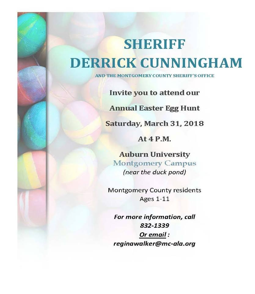 Montgomery County Sheriff's Office Annual Easter Egg Hunt