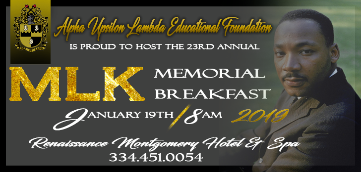 Alpha Phi Alpha Martin Luther King Jr Scholarship Breakfast 2019