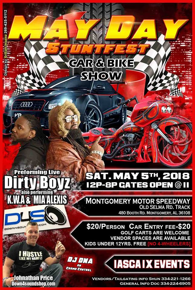 MayDay Stuntfest Car and Bike Show