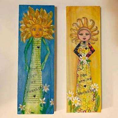 Mixed Media Workshop with artist Joyce Bamman