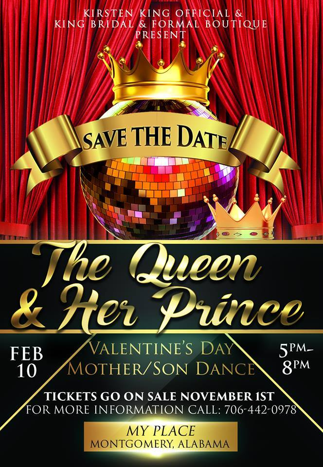 1st Annual The Queen & Her Prince Mother Son Dance