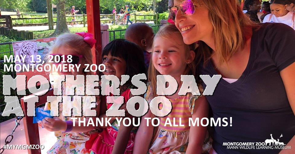 Mother's Day at the Montgomery Zoo
