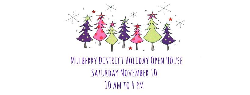 Mulberry Street Holiday Open House