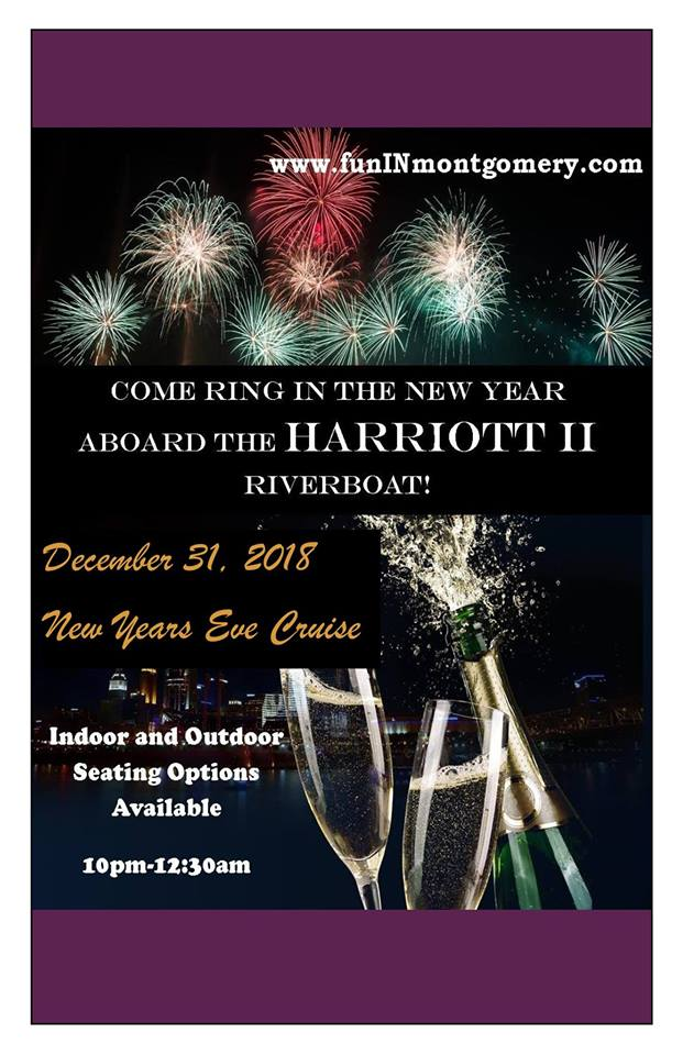 New Year's Eve Cruise on the Harriott II