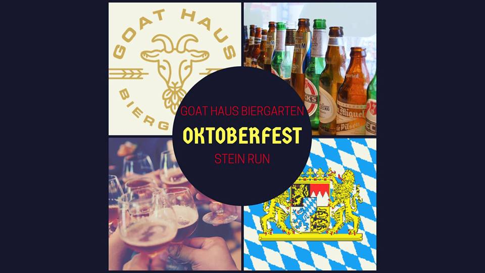 Goat Haus Biergarten and Fleet Feet Oktoberfest Stein Run