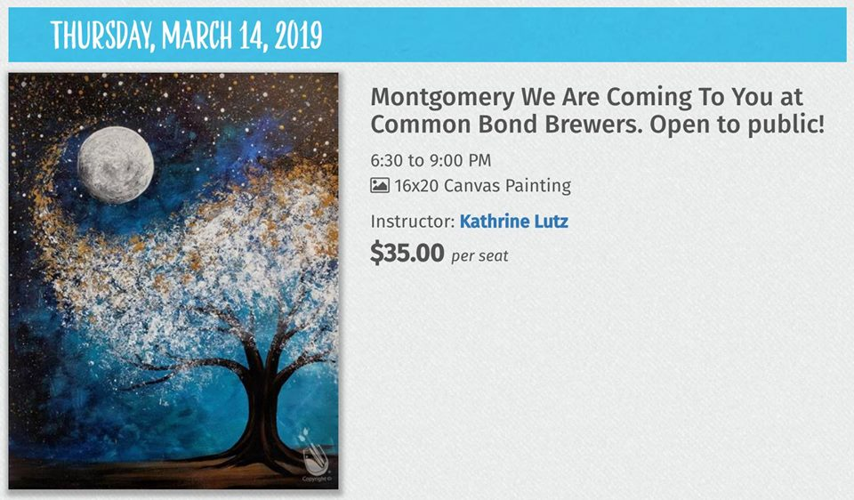 Painting with a Twist in Montgomery