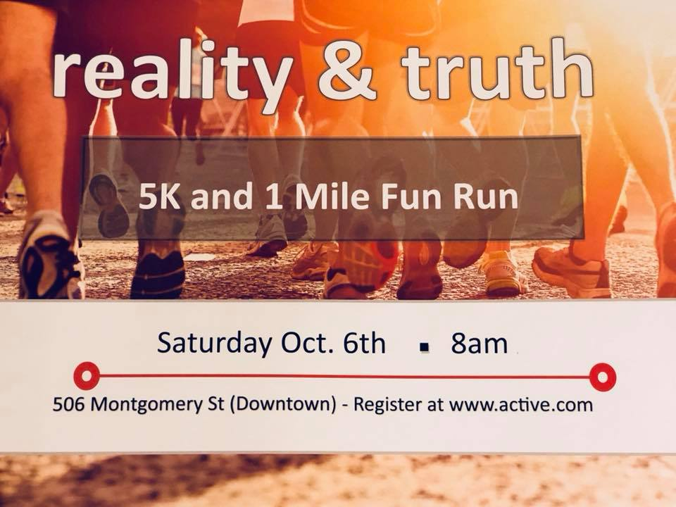 Reality & Truth 5-K and 1-Mile Run