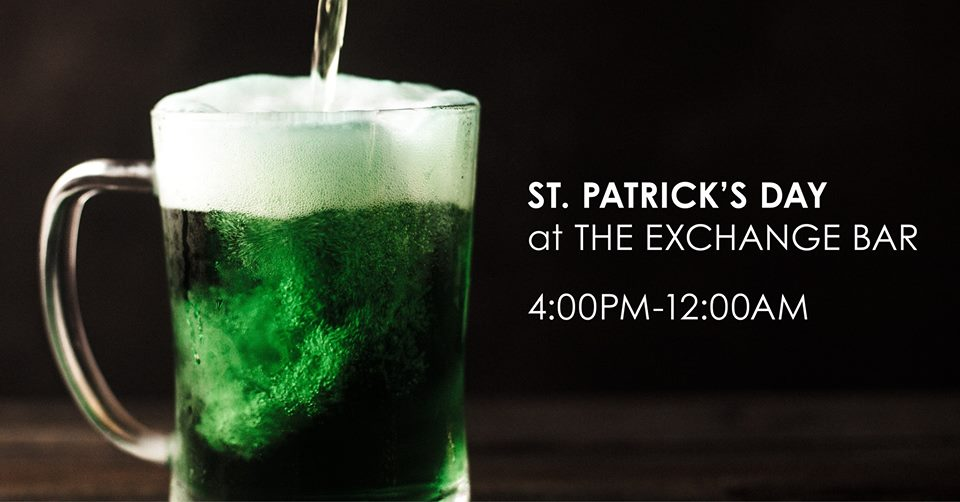 St. Patrick's Day at The Exchange Bar