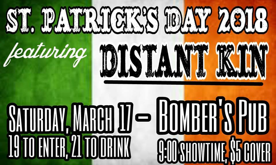 St. Patrick's Day w/ Distant Kin!