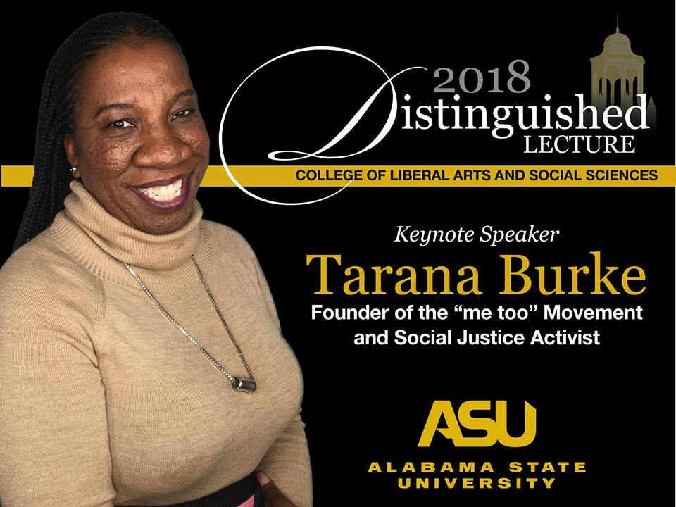 Distinguished Lecture Series featuring Tarana Burke
