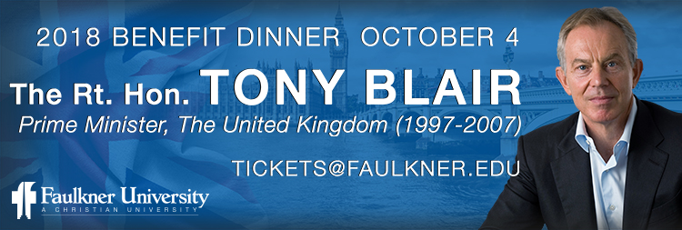 2018 Benefit Dinner Featuring The Rt. Hon. Tony Blair