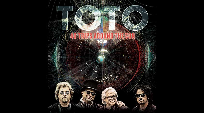 TOTO'S 40 TRIPS AROUND THE SUN WORLD TOUR