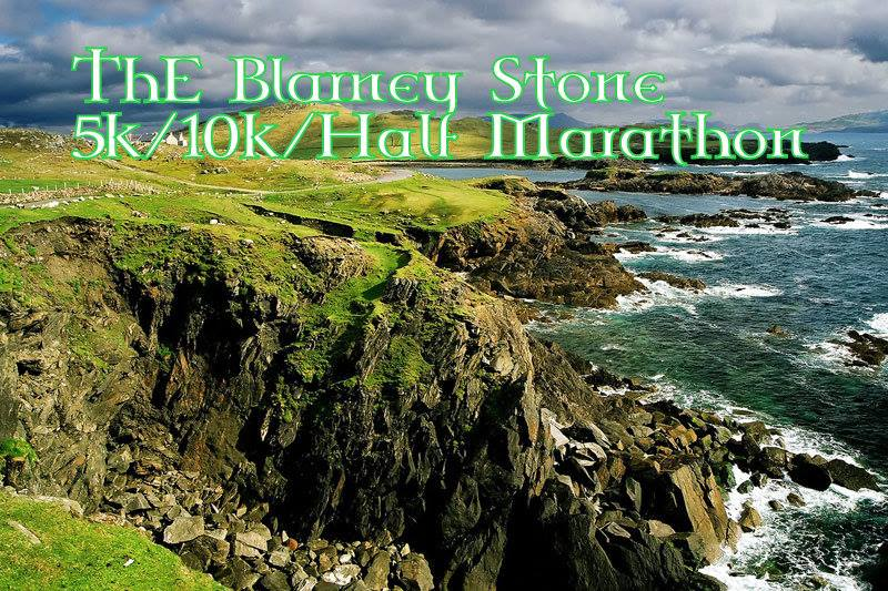 Virtual- Blarney Stone 5k/8k/10k/Half Marathon-Anywhere!