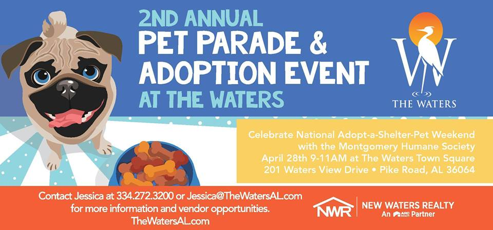 The Waters Pet Parade & Adoption Event