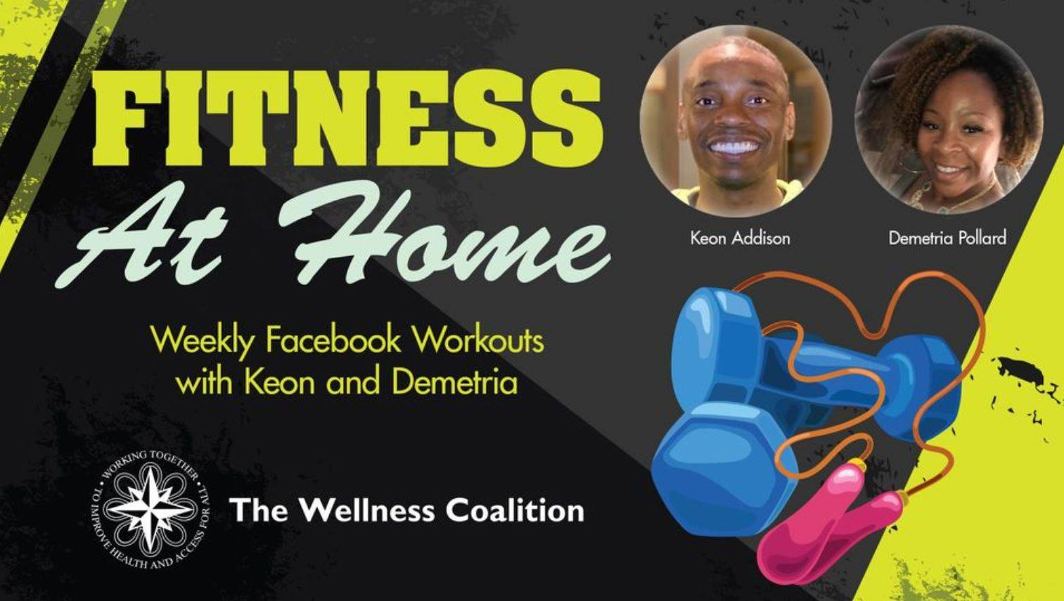 Fitness at Home: Live Exercise Events