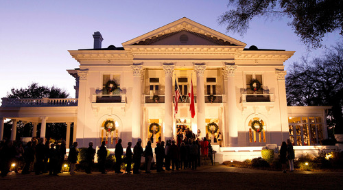 Alabama Governor's Mansion Christmas Candlelight Tours