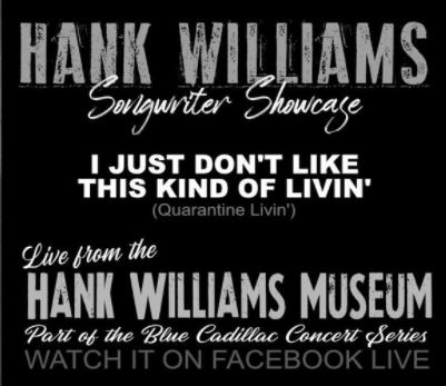 Hank Williams Songwriter Showcase 2020
