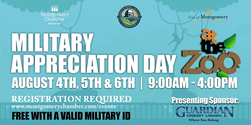 Military Appreciation Day at the Zoo 2020