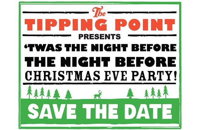 join the tipping point for some holiday fun on december 22nd at 600 pm this a christmas story inspired christmas party will feature pairings of beer and - The Night Before Christmas Story