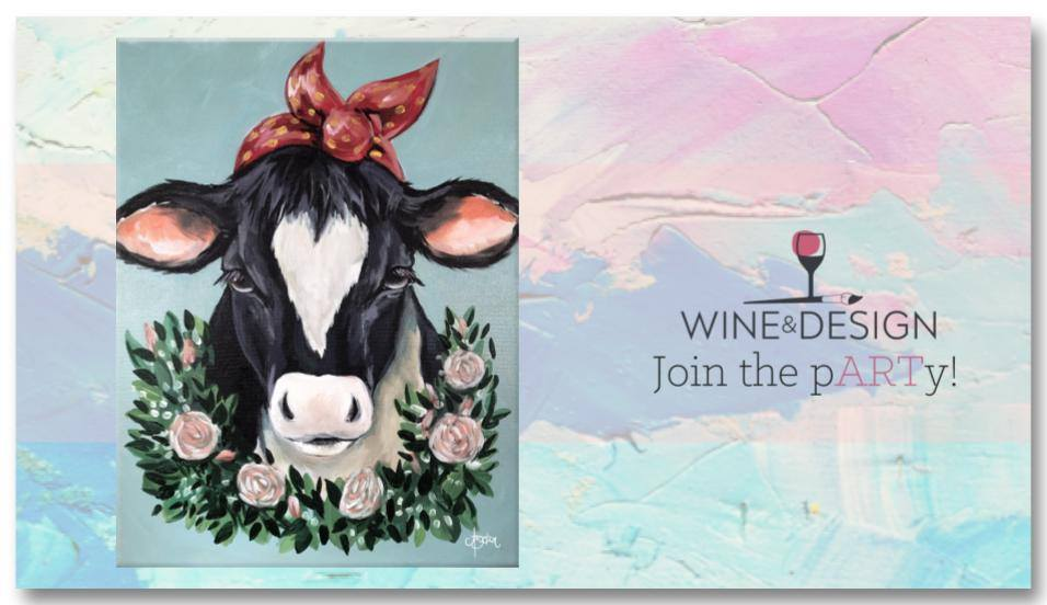 Paint & Sip - Betsy the Cow