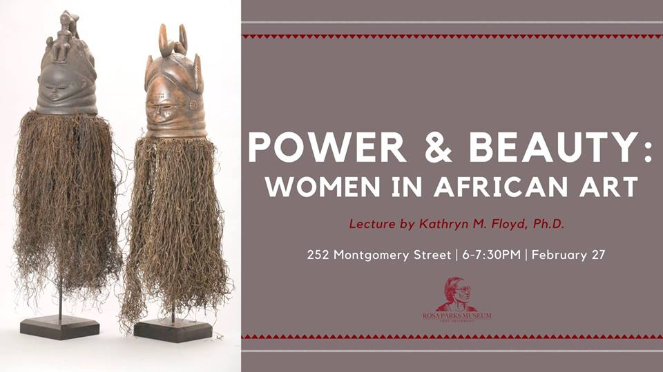 Lecture on Power & Beauty: Women in African Art